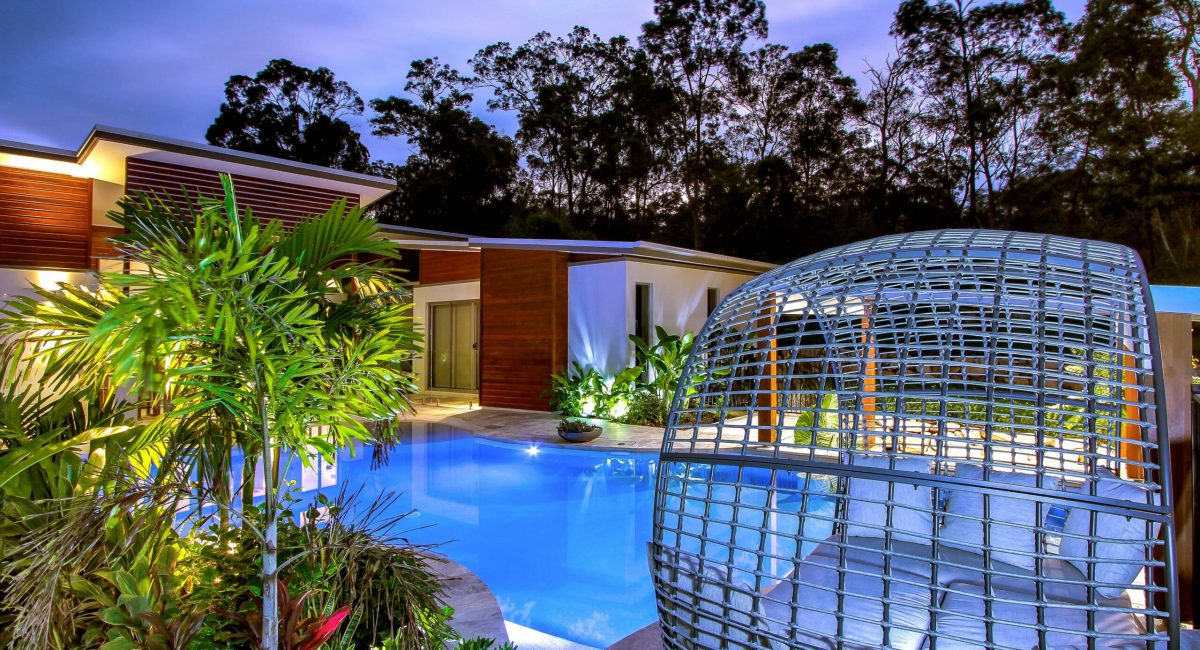Unique Pool & Landscaping Project - Byron Bay